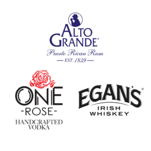 Cata de nuevos productos: Ron añejo Alto Grande, Whisky irlandés Egans y un vodka rosado.